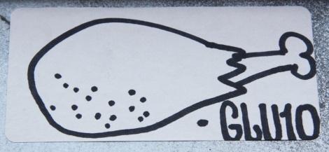 Glu10 sticker