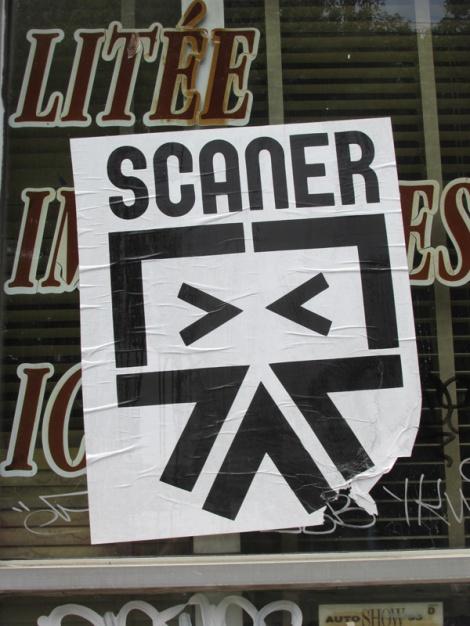 Scaner poster