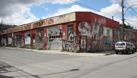 George General d'Auto Reparation, corner Marie-Anne and St-Dominique