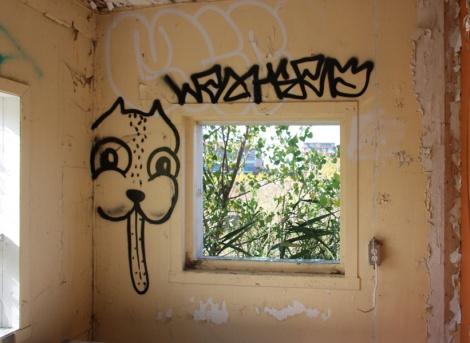 Waxhead at the abandoned Montreal Hippodrome