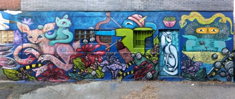 Waxhead, Cryote, Jess Krav and Labrona in Mile End