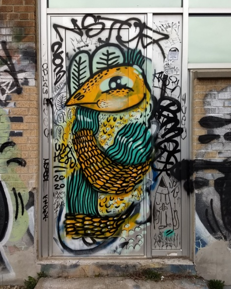 Waxhead, painted and drawn amongst a bunch of tags