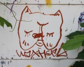 Waxhead piece in alley between St-Urbain and Clark
