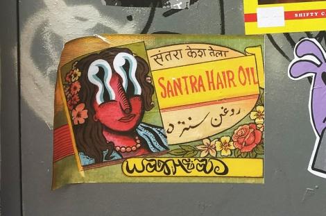 Waxhead paste-up