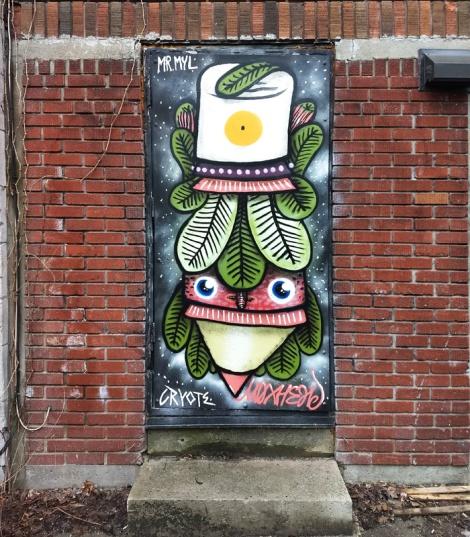 Waxhead on door