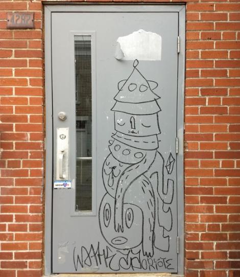 Waxhead on a Plateau door