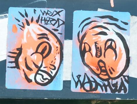 Waxhead stickers