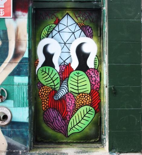 Waxhead piece on a Plateau door