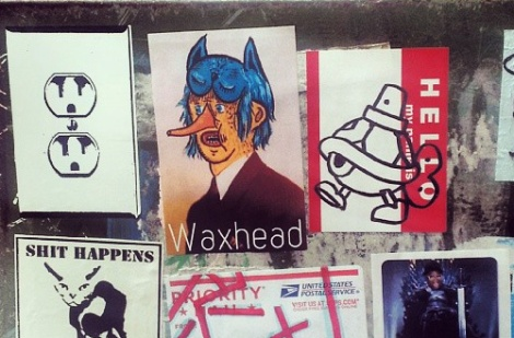 stickers by Waxhead and Turtle Caps amongst others