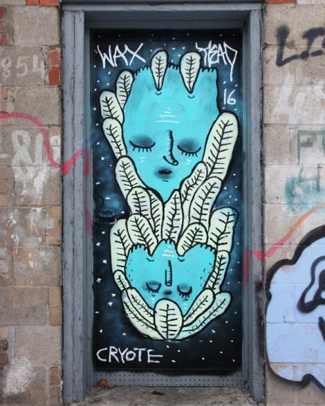 Waxhead on a Plateau End door