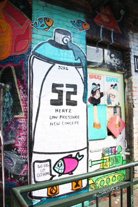 52Hz (left), Citizan (bottom right) for Cabane à sucre secret project August 2014