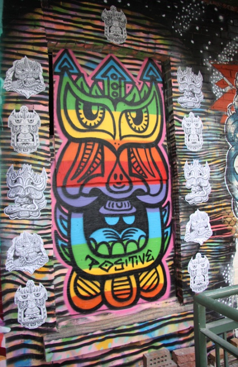 Chris Dyer aka Positive Creations for Cabane à sucre secret project August 2014