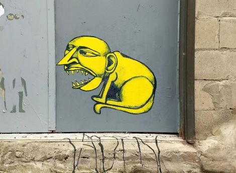 Labrona wheatpaste found in Hochelaga