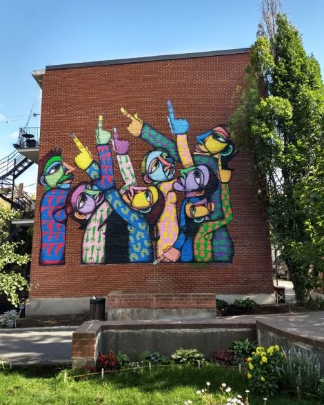 Labrona mural in Hochelaga