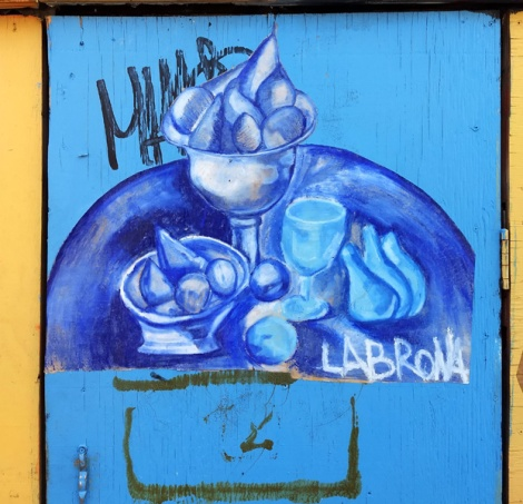 Labrona wheatpaste in the Plateau