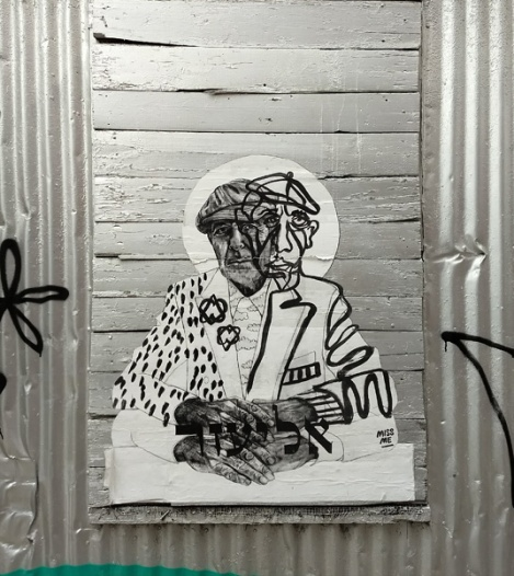 wheatpaste by Miss Me