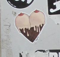 Miss Me sticker