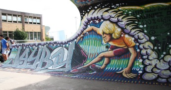 Chris Dyer / Positive Creations, Jay Adams memorial at Parc Olympique
