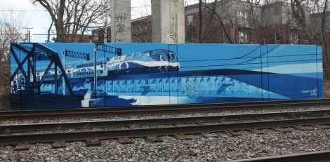 trackside mural by Dodo Osé for A'Shop