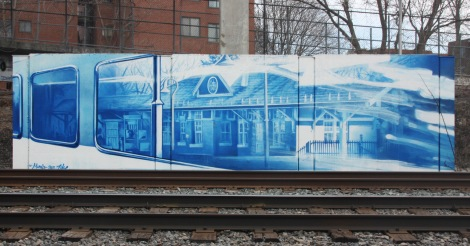 trackside mural by Zek for A'Shop