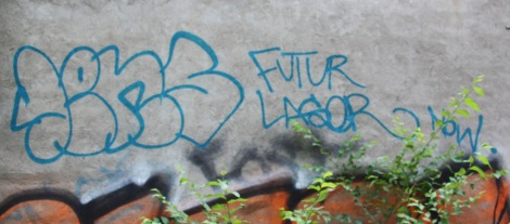 Futur Lasor Now 'graffiti'