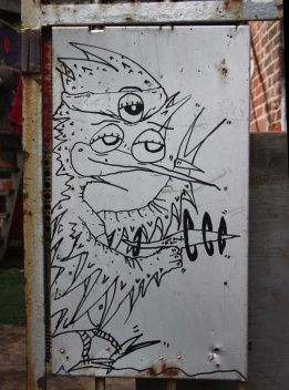 Futur Lasor Now 'graffiti'