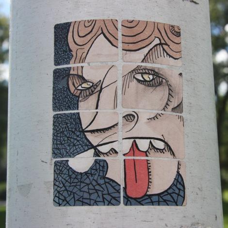 Il Flatcha sticker sheet, Parc Jeanne-Mance