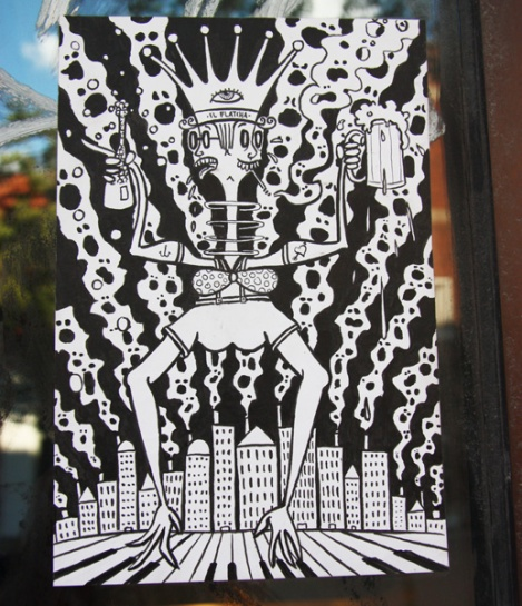 small paste-up by Il Flatcha