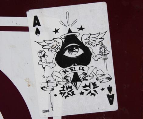 K6A Crew sticker