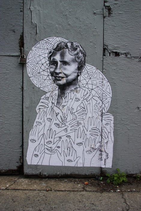 Miss Me wheatpaste on Marioe-Anne (also in other locations)