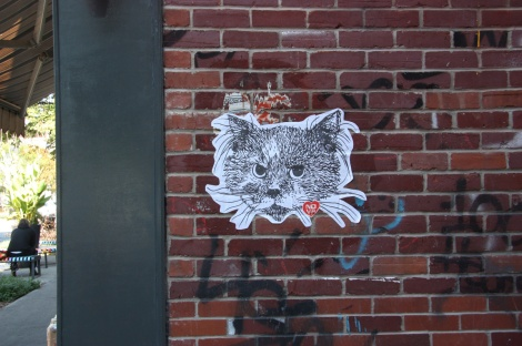 wheatpaste by Nova, Fairmount circa Clark
