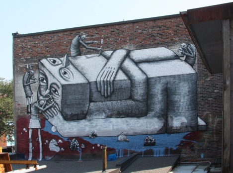 Phlegm, Monuments Berson on St-Laurent after 2014 'repairs'