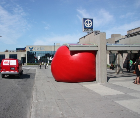 Red Ball Project Montreal day 5 - 4 September: Gare Jean-Talon