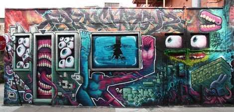 Lapin, Maddog and Namer for the 2014 edition of the Under Pressure Festival