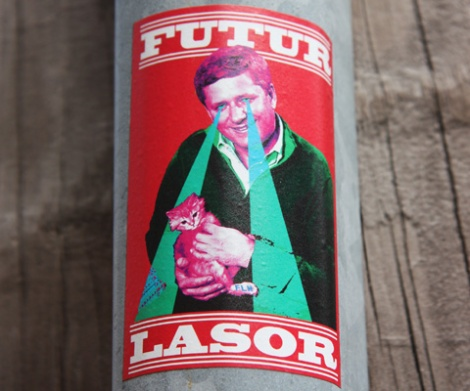 Futur Lasor Now sticker