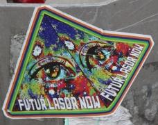 Futur Lasor Now sticker