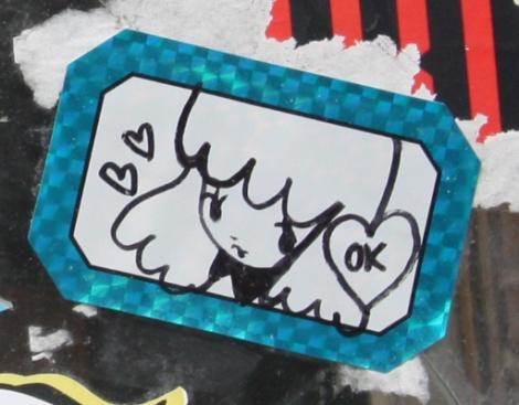 Stela sticker