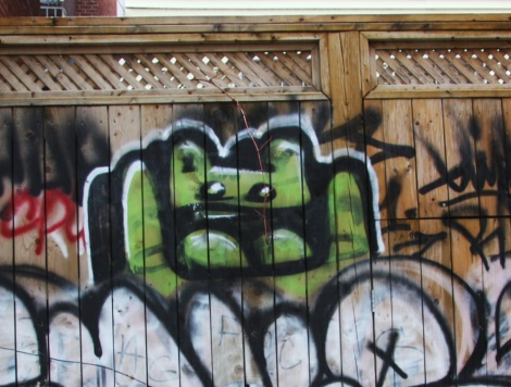 El Moot Moot in alley between St-Laurent and Clark