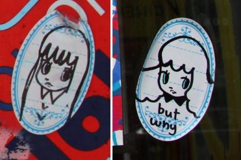 Stela stickers