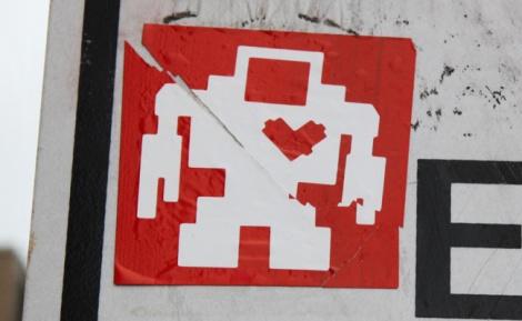 Lovebot sticker