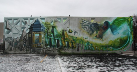 Mural by Art Du Commun for Muralité