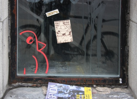 ROC514 drawing on window