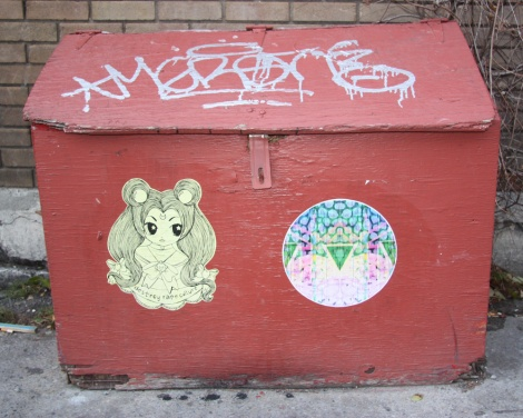 Stela (left) and Swarm (right) on St-Laurent