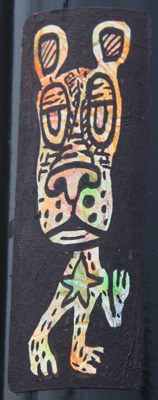 mini-sticker by unidentified artist