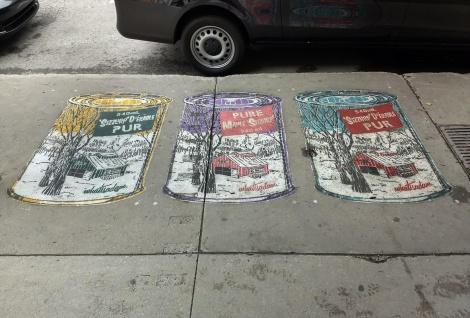 WhatIsAdam sidewalk stencils