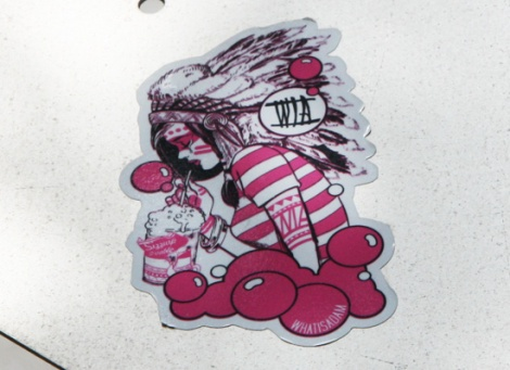 WhatIsAdam sticker