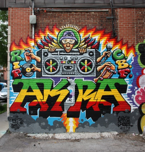 Chris Dyer and Barry Walsh collaboration in the Plateau. This was a memorial piece for departed friend Akira.