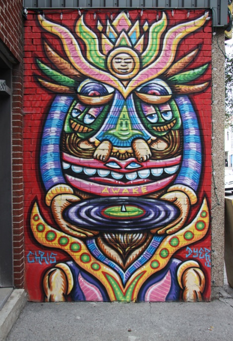 Storefront on St-Laurent by Chris Dyer aka Positive Creations