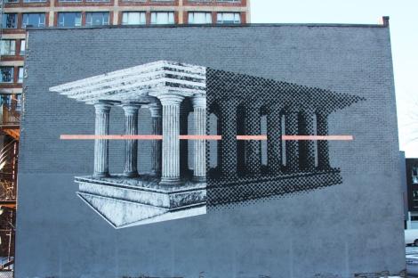 Cyrcle mural for Mural Festival 2014