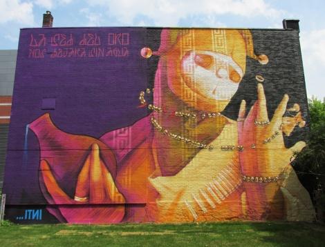 INTI mural for Mural Festival 2014